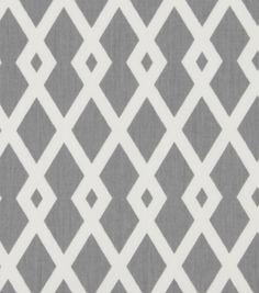 """Robert Allen@Home Best Print Fabric 54""""-Fret Nickel"""