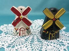 Vintage Salt and Pepper Shakers by TheSaltandPepperShop on Etsy