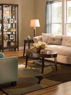 china cabinet deco...New England Elegance - Favorite Living Spaces on HGTV