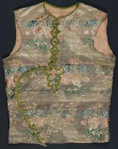 Silk sleeveless bodice