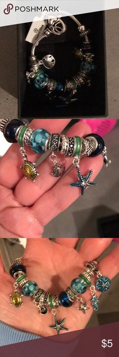 Beach themed bracelet New with tags Jewelry Bracelets