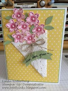 Cards | Card Making | Flowers | Scrapbook Cards | Creative Scrapbooker Magazine  #cards #flowers #scrapbooking