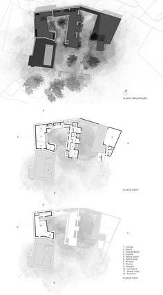 Vigário House,Plan