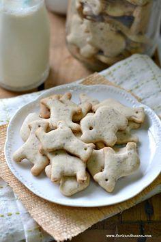 Homemade #Vegan #GlutenFree Animal Crackers.