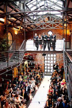 The Industrial Chic Wedding Industrial Wedding Inspiration, Industrial Wedding Venues, New York Bride, New York Wedding, Paris Wedding, Yosemite Wedding, Warehouse Wedding, Chic Wedding, Wedding Ideas