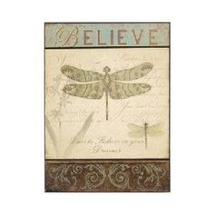 Rodworks - Dragonfly Print - Rodworks New Wall, Wall Décor, Crazy Home, Dragonfly Wall Art, Crafty Projects, Joss And Main, Cottage Chic, Invitations, Invite