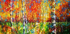 Anticipation of the Fall - Art by Valentine Ioppe