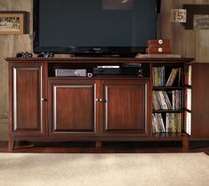 Hudson Smart Technology™ Large Media & Gaming Console | Pottery Barn They used to have a medium size too