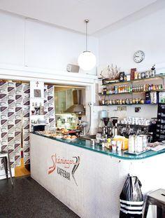 Skaninger Kaffebar Mjolk / via Herriott Grace