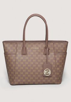 Logo Print Tote - Handbags - All Handbags | bebe