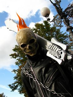 Ghost Rider - Lucca Cosplay 2008   by Criss!