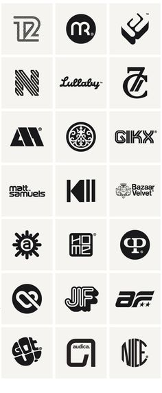 Logos & Marques 2010 by Socio Design, via Behance