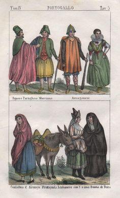 """Signore Portughese Murciano Arragonesi"" seltene altkolorierte original Lithographie von ca. 1840  http://www.ebay.es/itm/1840-Portugal-Spanien-Murcia-Lisboa-costumes-Trachten-Lithographie-/351666235715?ssPageName=ADME:B:SS:ES:1120"