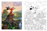 Disney Thomas Kinkade Coloring biik!!