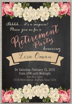 Nice Retirement Party Invitation Wording Invitations Card By