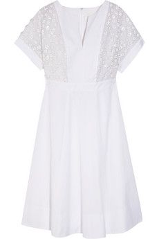 J.Crew Collection   Thomas Mason® embellished cotton-poplin dress | THE OUTNET