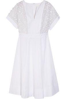 J.Crew Collection   Thomas Mason® embellished cotton-poplin dress   THE OUTNET