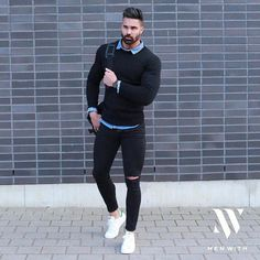 Casual Friday. Nice collaboration @menwithstreetstyle