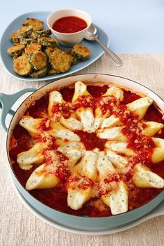 4 Fool-Proof Potluck Recipes - includes such things as stuffed shells created by the Biggest Loser's chef