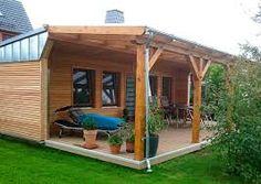 garagenwand mauern – Google-Suche Summer House Garden, Home And Garden, Garage, Outdoor Structures, Google, Searching, Carport Garage, Garages, Car Garage
