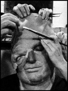 John Matuszak getting Sloth's Makeup during the filming of ... | 236 x 316 jpeg 14kB