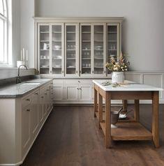 Home Interior Decoration .Home Interior Decoration Swedish Kitchen, Classic Kitchen, All White Kitchen, New Kitchen, Kitchen Dining, Kitchen Decor, Green Kitchen, Kitchen Colors, Rustic Kitchen