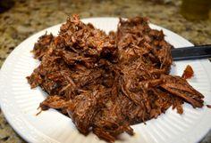 America's Test Kitchen shredded beef tacos (Carne Deshebrada)