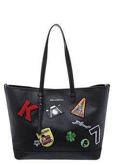 KARL LAGERFELD Tote bag - black £220.00 #ShopSale #shopping #FashionDesigner