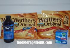 Cough-Werther's Original Hard Candies, etc This post is mainly  for people who have tried most everything they know to get rid of a cough and nothing seems to work. I have had that dry cough after I have used antibiotics and it just has to run its course. This is not for Whooping Cough, Bronchitis or Pneumonia.