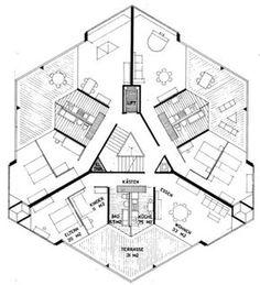 Mehrfamilien unten Organic Architecture, Architecture Plan, Architecture Student, Architecture Portfolio, Architecture Drawings, Building Plans, Building Design, Hotel Floor Plan, Dome House