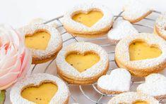 Doppeldecker Kekse mit Mango Maracuja Curd | Kiwi, Vegan, Desserts, Food, 200 Calories, Bakken, Tailgate Desserts, Deserts, Essen