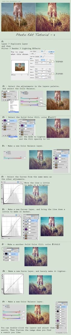 Great tutorial on editing photos for a vintage look. by Misskeeper