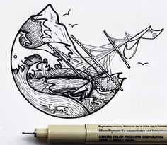 Photo gallery of nature based drawings by Osman Mansaray. All art is hand drawn, featuring unique birds/mountains/rivers and creative designs.