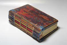 Handmade Journals, Handmade Books, Book Repair, Book Spine, Artist Journal, Book Sculpture, Scrapbook Journal, Journal Covers, Book Covers