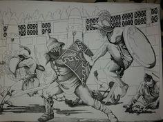 Gladiator illustration