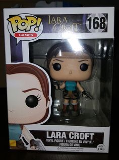 Lara Croft Funko Pop! figure in box