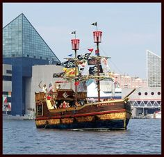Urban Pirates in Baltimore's Inner Harbor