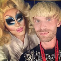 trixie and katya 😂😂😂😂😂funny AF Rupaul, Katya And Trixie Mattel, Brian Firkus, Jinkx Monsoon, Lesbian Moms, Katya Zamolodchikova, Queen Costume, Jodie Foster, Double Trouble