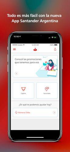 Santander Argentina en App Store App, Phone, Argentina, Christians, Telephone, Apps, Mobile Phones