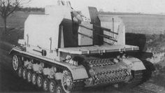 2 cm Flakvierling auf Fahrgestell Panerkampfwagen IV (Prototyp) | Flickr - Photo Sharing!