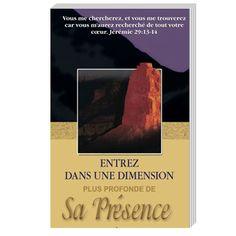 """Désirez-vous connaître une dimension plus profonde de la glorieuse présence de Dieu ? Votre cœur soupire-t-il sincèrement après lui ? Une chose est sûre, c'est que l'Éternel se dévoilera à vous car c'est une promesse que Dieu nous fait dans Jérémie 29 : 13-14 : """" Vous me chercherez, et vous me trouverez car vous m'aurez cherché de tout votre cœur """"."""
