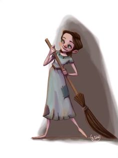 """""""Noné""""A character from my story """"Three Rivers"""". Of course inspired by characters like Cinderella or Snow White and the Little Match Girl."""