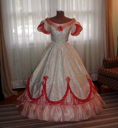 Civil War Era Ball Gowns | ... civil war era gowns you will find everything from visiting gowns to