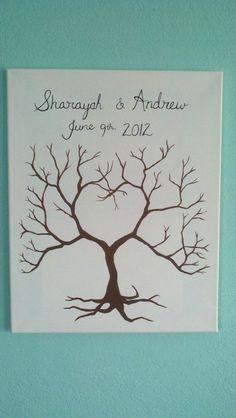 Wedding Gift Painting Suggestions : Wedding Painting Ideas on Pinterest Wedding Trees, Wedding ...