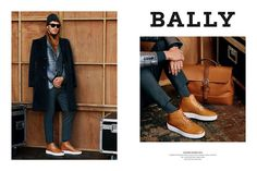 After fronting Bally's spring-summer 2015 campaign, Clément Chabernaud reunites with the brand for fall. Photographed by Alasdair McLellan, the French model joins Edita Vilkeviciute for Bally's fall-winter 2015 advertising campaign. Posing for outdoors images, Clément dons must-have pieces from the label's current collection, which was inspired by The Royal Tenenbaums. Related: Bally Fall/Winter 2015 Menswear...[ReadMore]