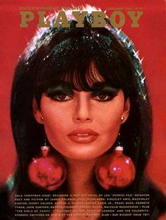 Dolores Carmen's Holiday Beauty Inspiration - Nancy Gould for Playboy 1966