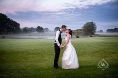photo de couple mariage au country club etiolles