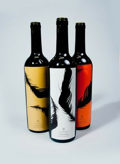 Firebird Wine Label. #vino #wine #winelovers #etichette #labels #packaging