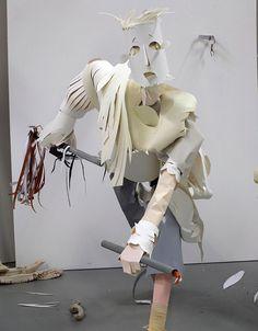 man paper artwork