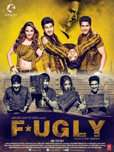 #Fugly is surely not just a youth-centric and friendly drama but is quite unusual and at the same time very entertaining with a thoughtful message.